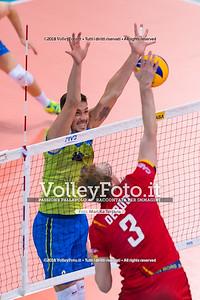 durante presso , 15 settembre 2018. Foto di: Mari.ka Torcivia per VolleyFoto.it [riferimento file: 2018-09-16/_65A8403]