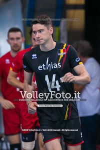 durante presso , 15 settembre 2018. Foto di: Mari.ka Torcivia per VolleyFoto.it [riferimento file: 2018-09-16/_65A8319]