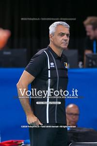 durante presso , 15 settembre 2018. Foto di: Mari.ka Torcivia per VolleyFoto.it [riferimento file: 2018-09-16/_65A8338]