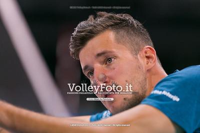 durante presso , 15 settembre 2018. Foto di: Mari.ka Torcivia per VolleyFoto.it [riferimento file: 2018-09-16/_65A8299]