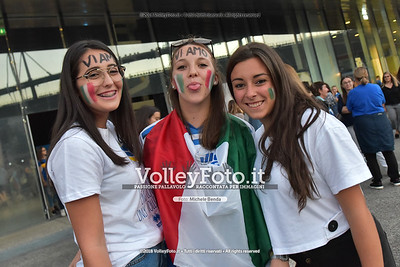 Italy's fans
