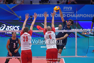 Poland - USA (Semifinal) - FIVB Volleyball Men's World Championship Italy-Bulgaria 2018