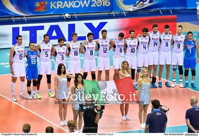 Finale 3º/4º: FRANCIA-ITALIA