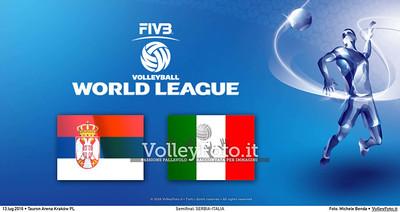 Semifinale: SERBIA-ITALIA