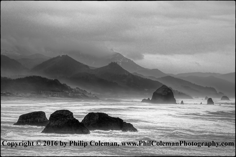 Winter Storm Over Indian Cove, Oregon