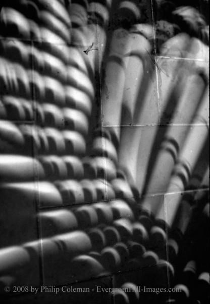 Shadows of a solar eclipse, Mexico, 1991