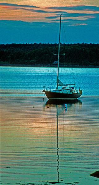 Boat, Frenchman Bay, Maine