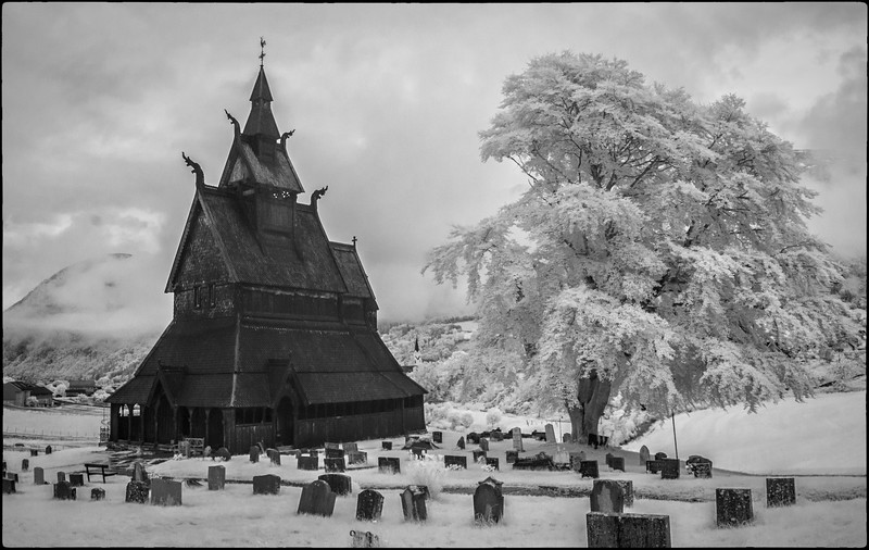 Hopperstad Stave Church and Cemetary
