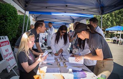 Interprofessional Health Fair at the Los Angeles County Fair