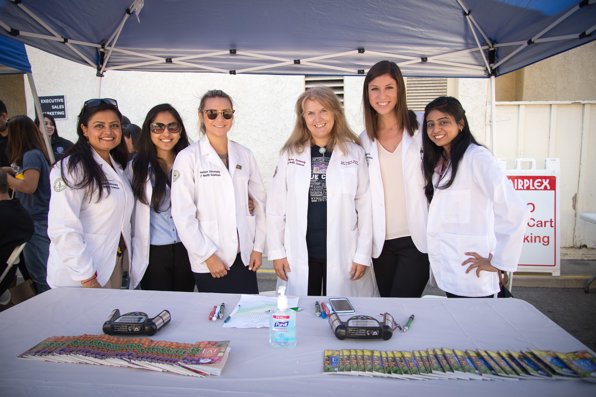 Interprofessional Health Fair at the LA County Fair