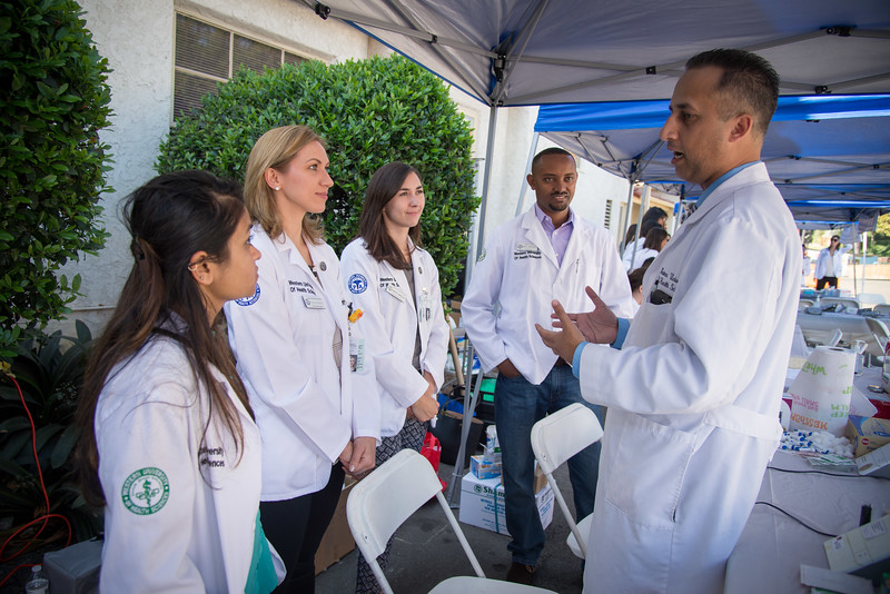 Interprofessional Health Fair at the LA County Fair