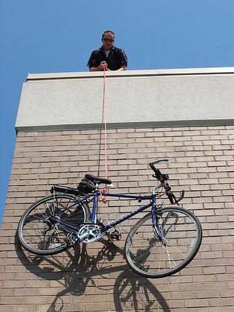 Hey Brad, where is your bike?