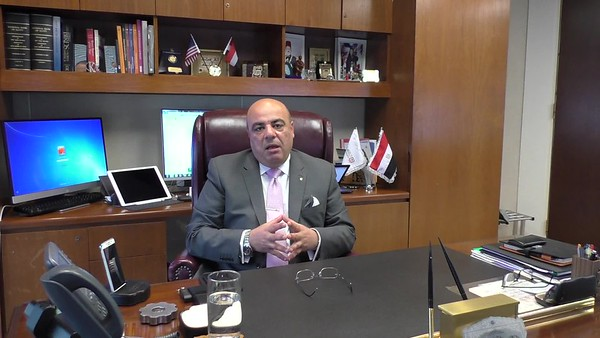 Interview Khaled ElGhorab Manager of National Bank of Egypt