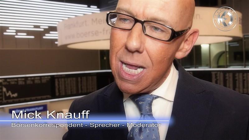 Videointerview mit Mick Knauff in der Börse Frankfurt am Main - Karrideo Imagefilmproduktion