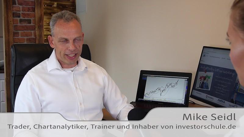 Teil 2 - Der Wohlstandsmacher Mike Seidl - Börsenprofi und Inhaber der investorschule.de - Interview mit Karrideo Imagefilm-Produktion©®™