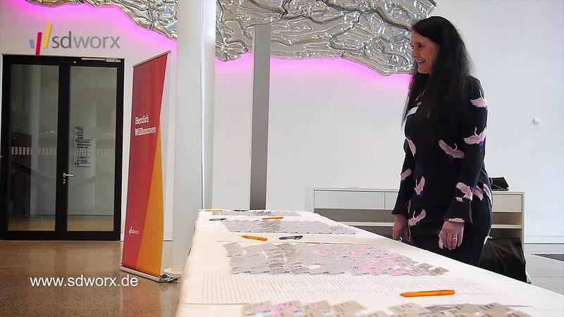Susanne Nickel, Expertin für Change-Management - SD Worx Personaltagung 2018 - Karrideo Imagefilmproduktion ©®™