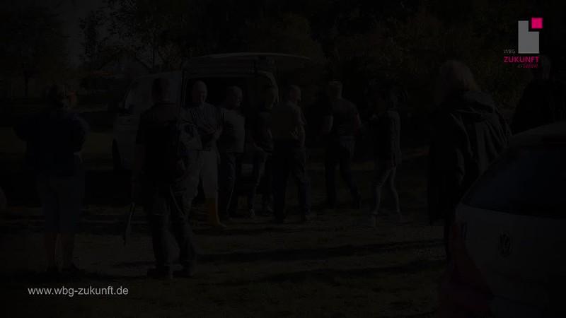 Silke Wuttke zum Freiwilligentag 2018 - WBG Zukunft eG - Rote Wand Gispersleben - Karrideo Imagefilm ©®™