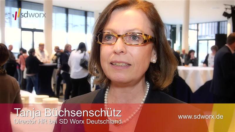 """Videointerview mit Tanja Büchsenschütz (Director HR) zur SD Worx Personaltagung """"Mehr Zeit für Zukunft"""" - Karrideo Imagefilm ©®™"""
