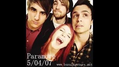 Paramore  05/04/07