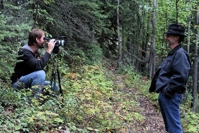 Steve Elkins And John Luther Adams In Alaska
