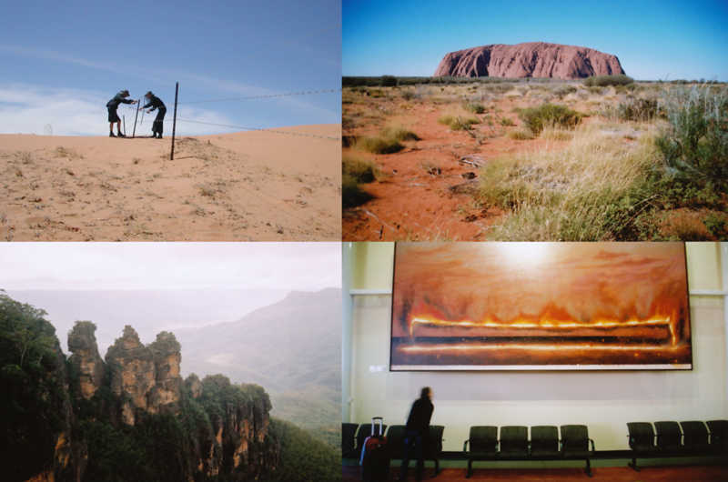 35mm Photos From Production In Australia (2009)