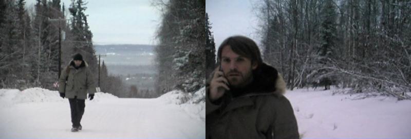 Steve Elkins During Production In Alaska (January 2009)