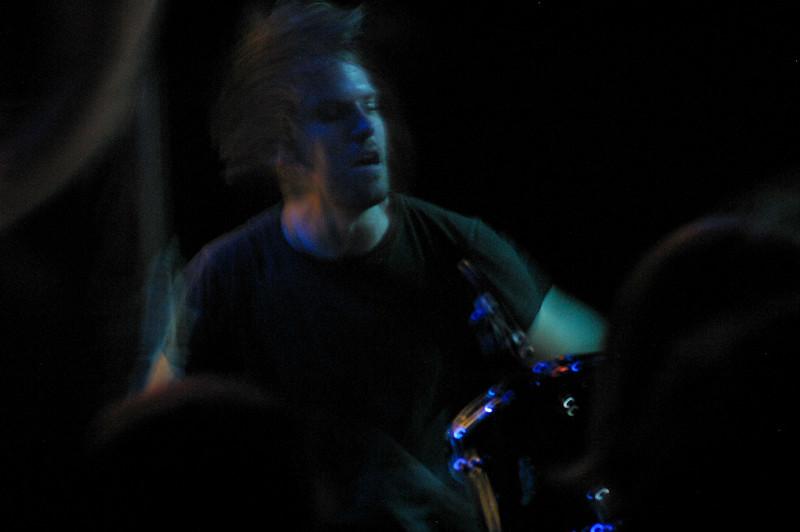 Steve Elkins Drumming On Tour In Manchester, England