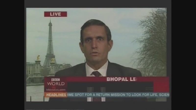 WATCH:  The Yes Men Pretending To Represent DOW Chemical On BBC World News