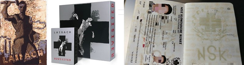 Laibach Poster, Album And Micronation Passport