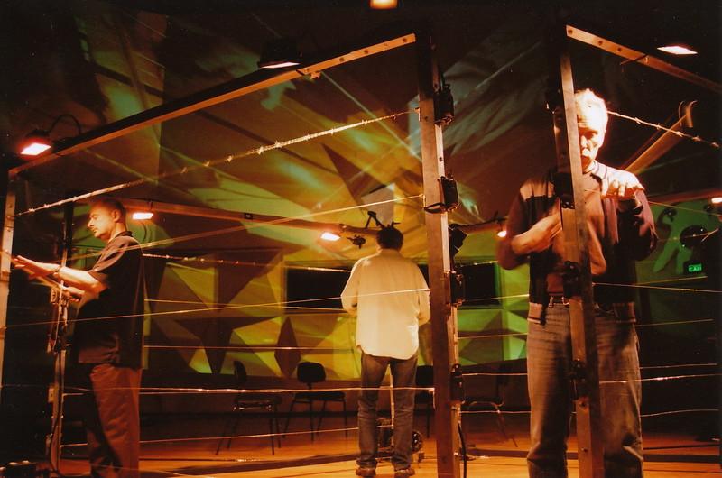 Kronos Quartet Learning To Play Fences As Musical Instruments (Sydney Opera House, Australia)