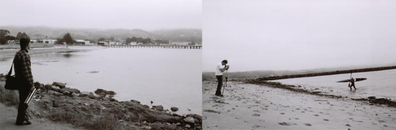 Filming Bob Ostertag Kayaking In Half Moon Bay