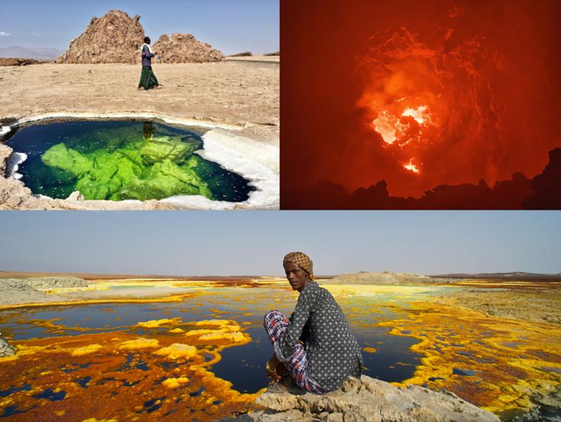 Above:  Danakil Depression, Ethiopia