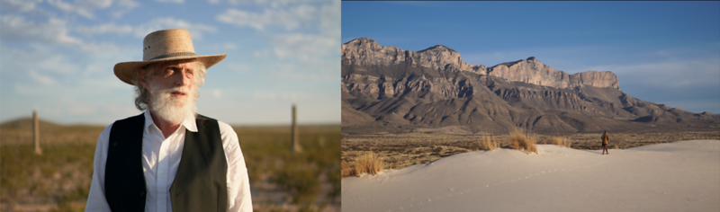 Jim Magee and Linda Lynch In The Chihuahuan Desert