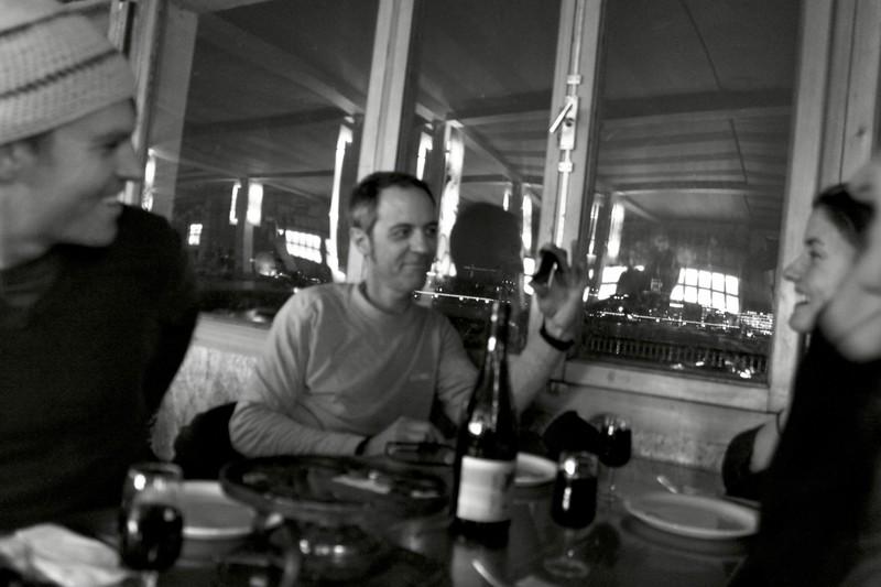 Steve Elkins and Crew In Geneva, Switzerland