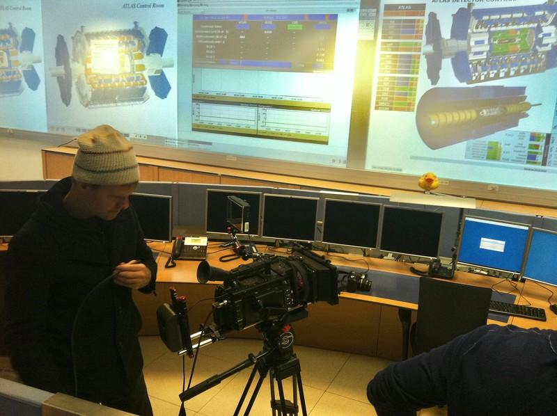Steve Elkins In The Atlas Control Room