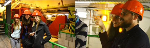Crew During Production At CERN