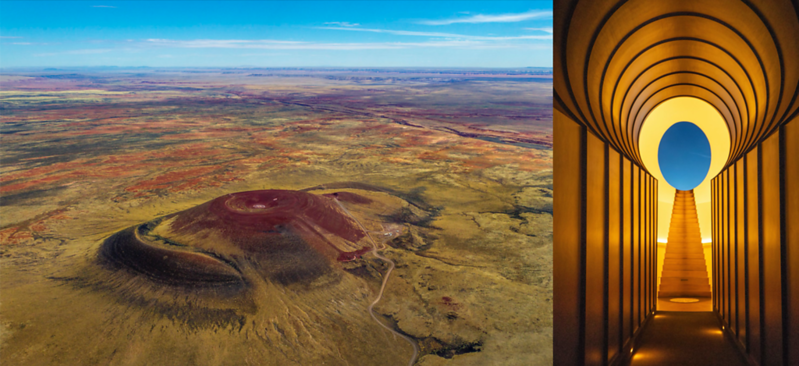 James Turrell's Roden Crater: A Gateway For Observing Celestial Events Inside The Tunnels Of A 400,000 Year-Old Volcano