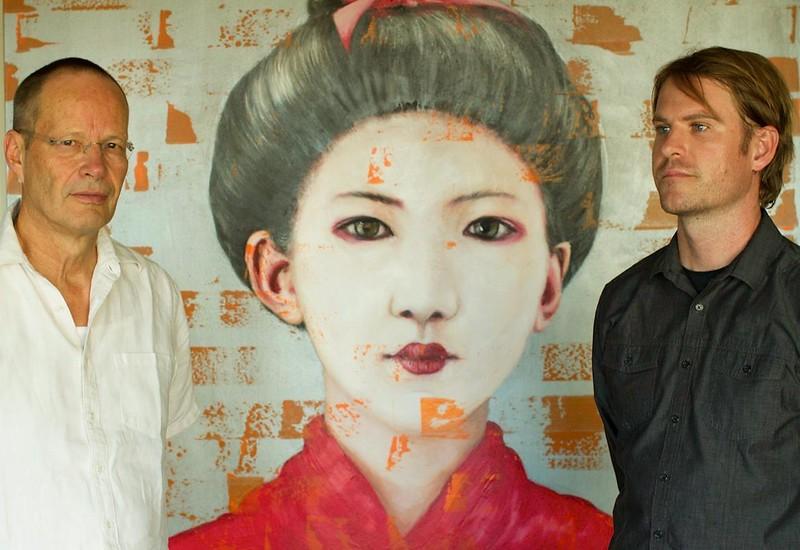Working With Tibetan Anthropologist Martin Brauen (Left)