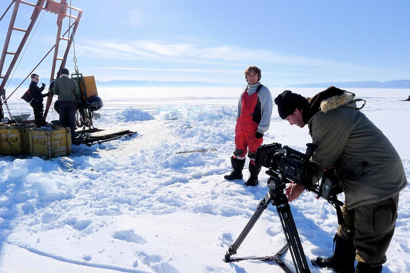 With Neutrino Physicists On The Frozen Surface Of Lake Baikal, Siberia