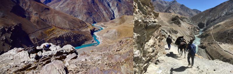 Hauling Film Gear Across The Himalayas On Horseback (India)