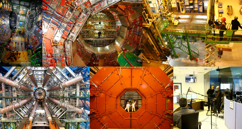 Filming At CERN's Large Hadron Collider (January 2011)