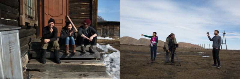 Steve Elkins And Crew In Siberia