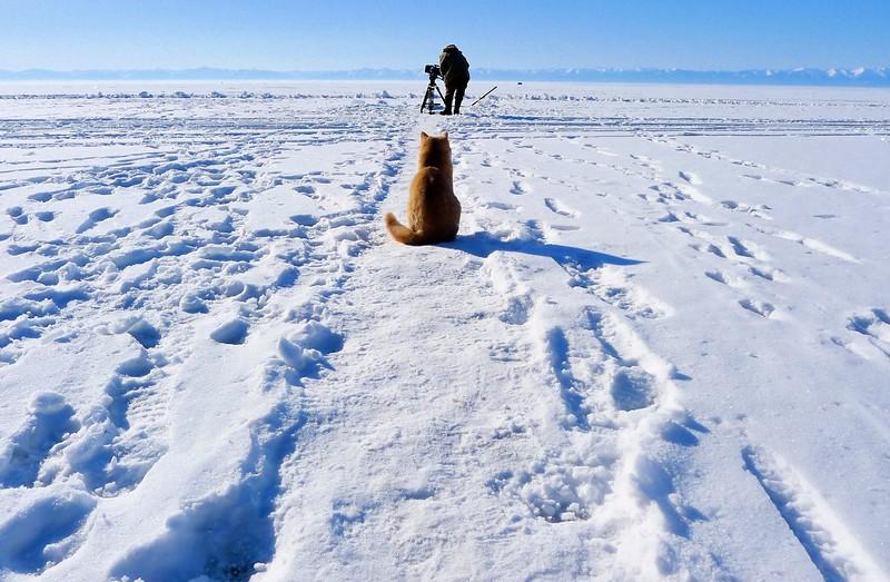 Steve Elkins Filming In Siberia