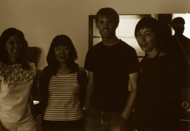 (Left To Right):  Zeena Parkins, Ikue Mori, Steve Elkins, Jessica Tjalsma