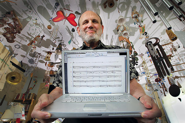 """ELKINS:  How did you begin investigating whether computers can be musically creative?<br /> <br /> COPE:  In the mid-70s, I began trying to figure out how to define my own musical style of composing in ways that you could actually code.  I began writing a piece algorithmically on old IBM computer punchcards.  I assumed it would be so bad that it would cure my writer's block at the time.  I thought that by having a computer so poorly replicate my own creativity, it would become a provocateur that would make me think, """"I wouldn't do that, I'd do this instead.""""  But of course, how do you begin to define what your own style is?  And even if I could, I wasn't sure that I wanted to do it either, because if you know what you're doing then you start questioning it each time it comes about:  """"Am I being too repetitious?  Am I writing the same piece over and over again?""""  <br /> <br /> So I decided to work on finding ways to code someone else's style, and began working on Bach instead.  I built a program that analyzed a database of Bach chorales, and spit out music that was in the style of the music in the database, but without actually duplicating any of the pieces in the database.  Before I mothballed my program EIMI (Experiments In Musical Intelligence), there were approximately one thousand pieces that """"she"""" had composed.  They are now published and available on the internet.  They range anywhere from full-scale grand operas to small inventions for piano.  Large scale symphonies, for example Beethoven's 10th Symphony, and Mozart's supposedly 42nd Symphony down to a solo cello suite movement in the style of Bach.  Hundreds of hours of music when performed.  There's also 10,000 other pieces, including 5,000 Bach chorales available on my internet site.  I've only heard two, but other people talk about the other ones.<br /> <br /> In most cases, I did not produce any more of a composer's type of work than the composer him or herself did.  So there are 56 Chopin mazurkas.  The"""
