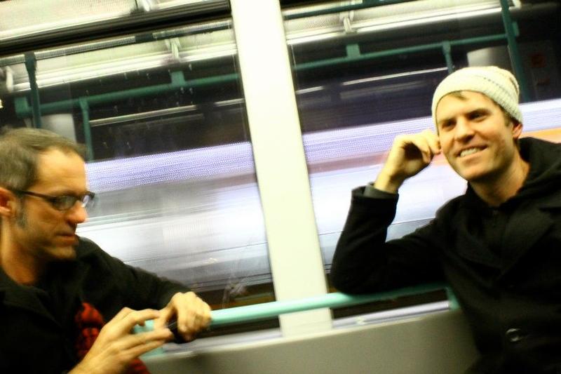Ben and Steve In Geneva