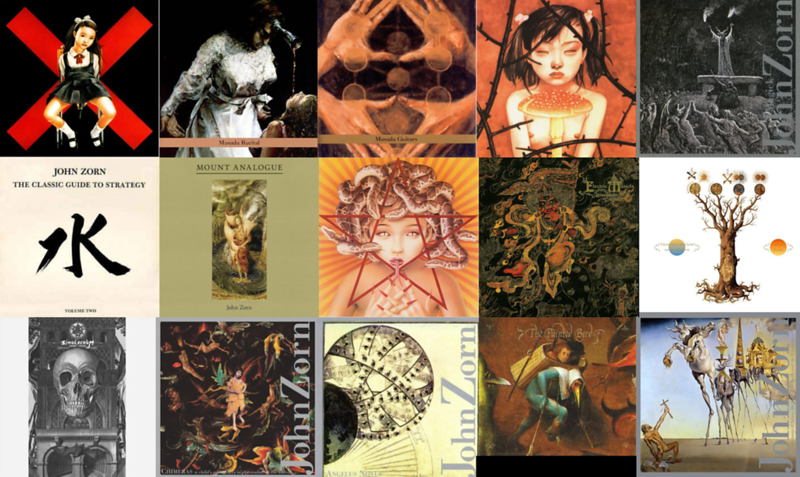 A Very Small Sample of John Zorn's Records