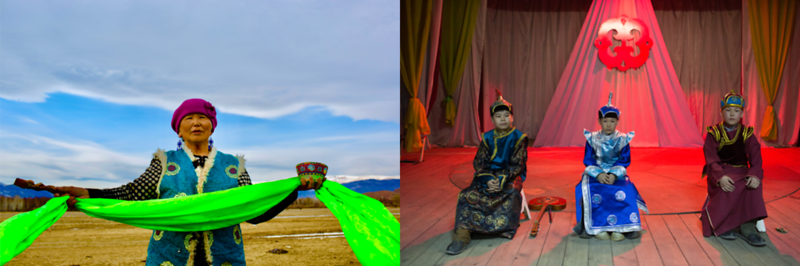 Tuvan Singers In Kyzyl and Teeli