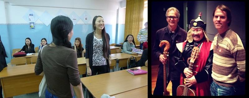 Ralph Leighton, Kongar-ool Ondar and Steve Elkins (Right), Meeting Kongar-ool Ondar's Daughter In Kyzyl (Left)