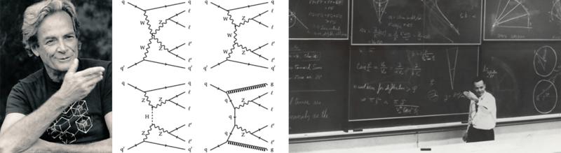 Richard Feynman And His Feynman Diagrams